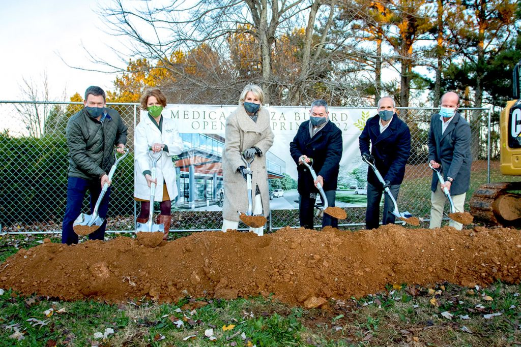 Carol and Team at Buford Groundbreaking 2020